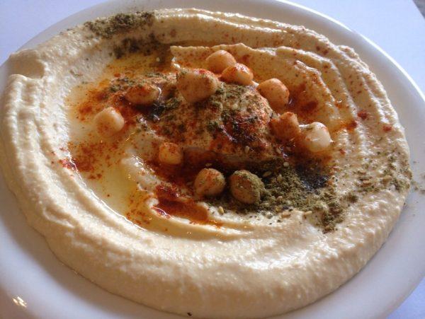 Hummus zaatar